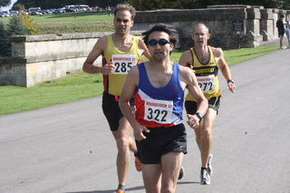 example of a race photo